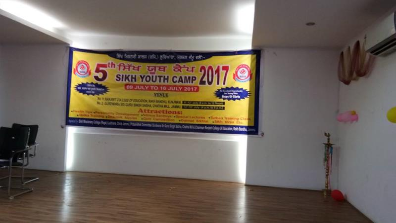 Sikh Youth Camp
